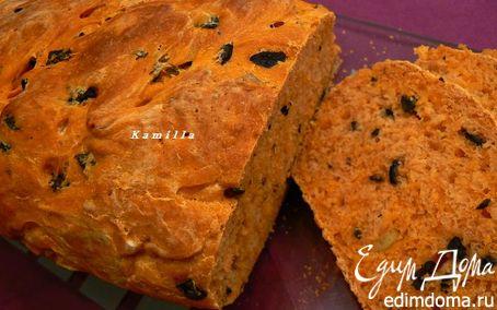 Рецепт Томатный хлеб с оливками
