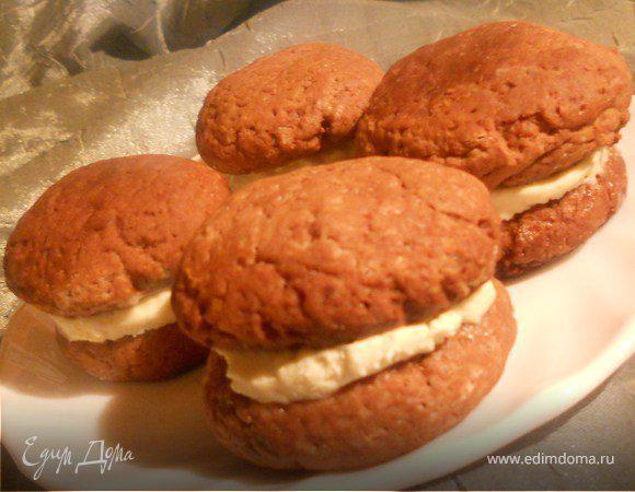 Печенье «whoopie» с зефирным кремом