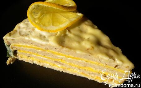 """Рецепт + Торт закусочный """"Рыбный"""""""