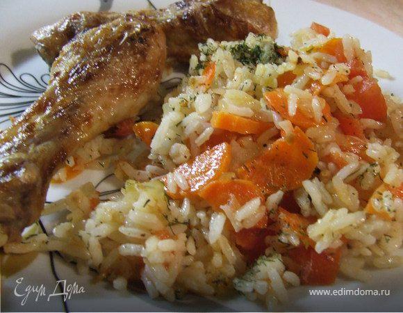 Ароматная курочка с рисом
