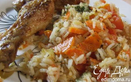 Рецепт Ароматная курочка с рисом
