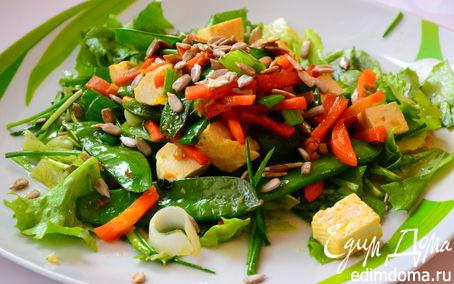 Рецепт Тофу-салат