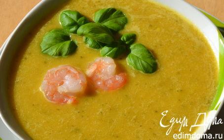 Рецепт Ароматный тайский супчик с лемонграссом