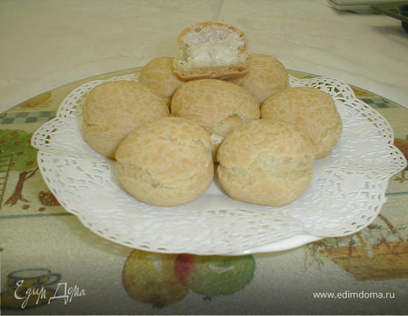 Закуска: Заварные с начинкой из тунца