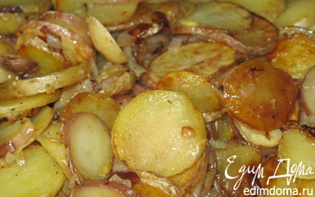 Рецепт Картошечка по-домашнему