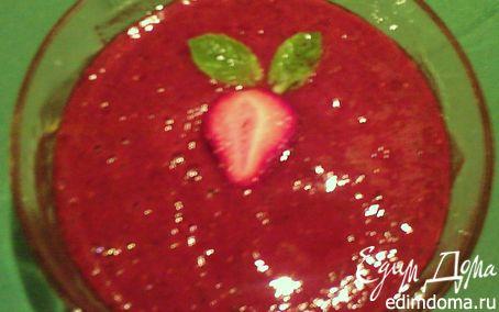 Рецепт Освежающий клубничный десерт