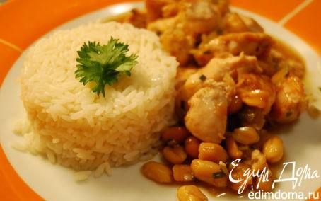 Рецепт Куриное филе с арахисом Gong Bao Ji Ding.