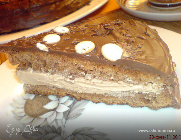 """Торт """"Прага"""" от Гастрономъ"""