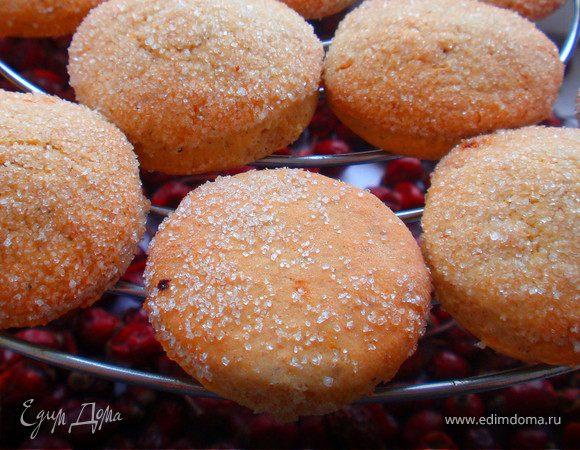 Имбирно-апельсиновое печенье