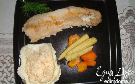 Рецепт Рыбное филе с соусом чили(Fish Fillets with a Chilli Sause)