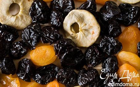 Рецепт Овсяное печенье с сухофруктами и орехами