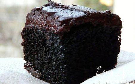 Рецепт Мега брауни с двойным шоколадом