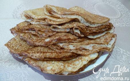 Рецепт Марокканские блины на дрожжах