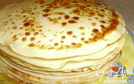 Рецепт Блинное ассорти на Масленицу (блинный жульен, банан, шоколад и немного Crespelle dolci)