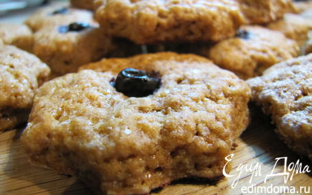 Рецепт Печенье орехово-грейпфрутовые звездочки