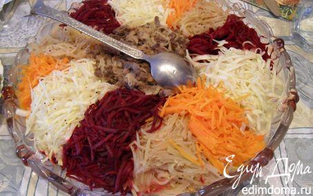 """Рецепт – Салат не только полезный, но и красивый """"Чафан"""""""
