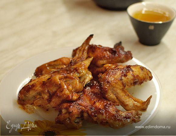 Крылья с аджикой и медом