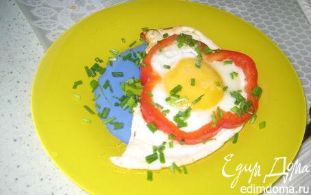 Рецепт Весёлая яичница!