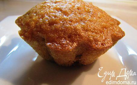 Рецепт Кексы апельсиновые с медом и курагой