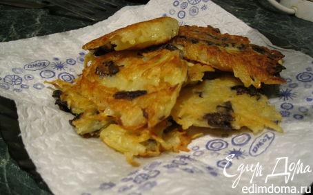 Рецепт Картофельные драники с грибами