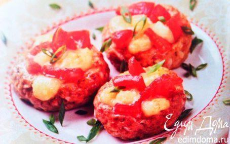 "Рецепт ""Гнездышки"" с сыром и помидорами"