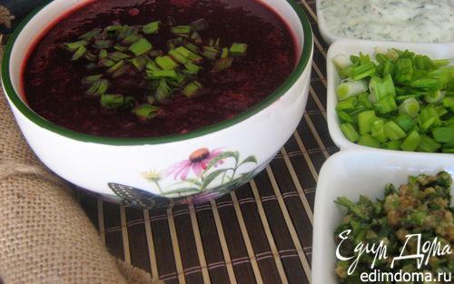 Рецепт Острый свекольный суп с имбирём