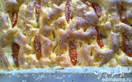 Рецепт Итальянский хлеб фокачча