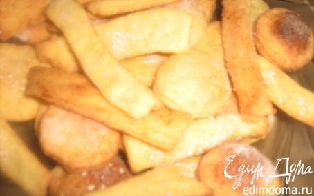 Рецепт Хрустящее творожное печенье