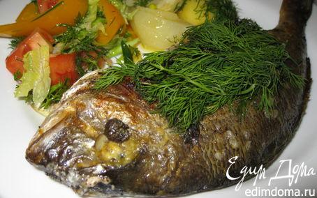 Рецепт Дорадо под горчичным соусом