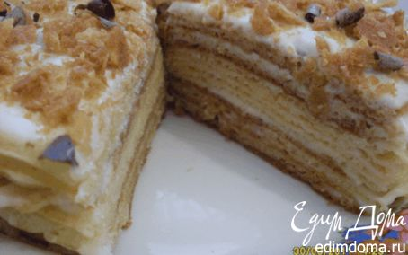 Рецепт Вафельный тортик в вафельнице