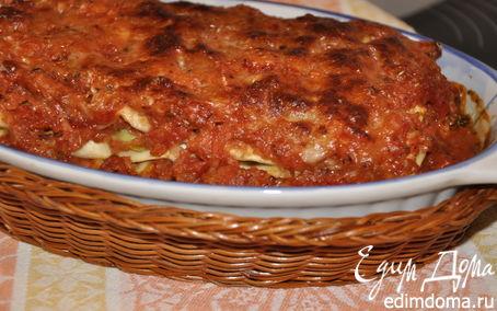 Рецепт лазанья нежная овощная