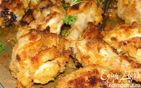 Рецепт Курица в чесночно-розмариновой шубке