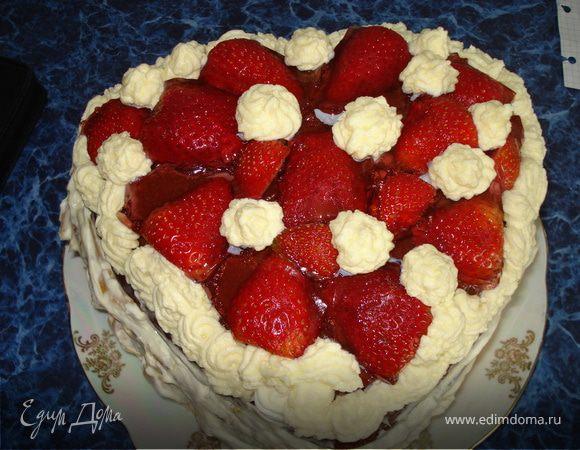 """Тортик """"Сердце!"""""""