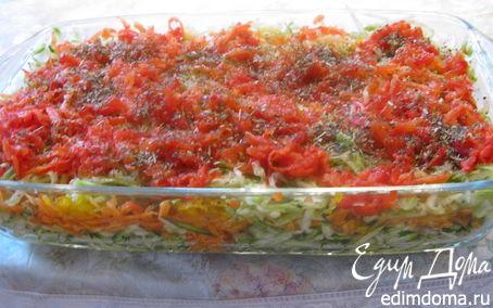Рецепт Овощной светофор