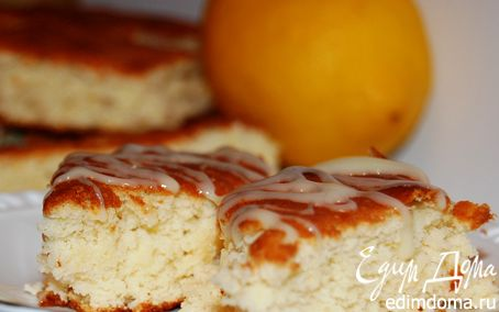 Рецепт Лимонная мазурка.