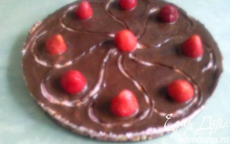 Рецепт Творожно-клубничный десерт