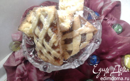 Рецепт Плетеные песочные печенья с начинкой