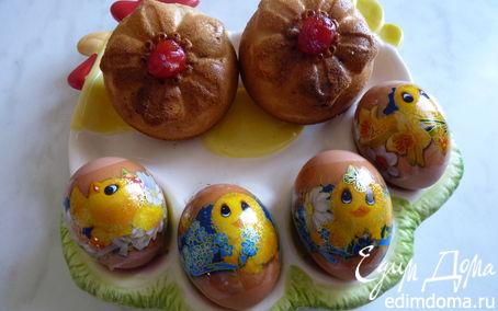 Рецепт Пасхальные кексы