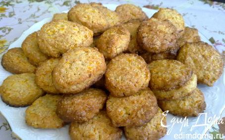 Рецепт Печенье COOKIES с цитрусовой цедрой