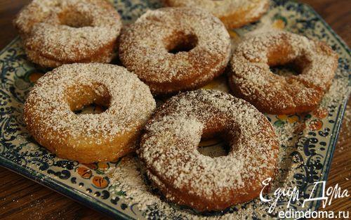 Рецепт Картофельные пончики в сахарной пудре