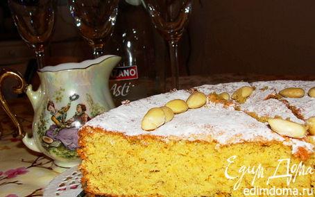 Рецепт Gato de almendra(Майоркинский миндальный пирог)