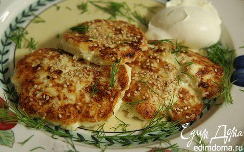 Рецепт Жареные пирожки из картошки и творога