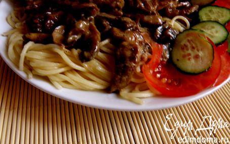 Рецепт Паста с грибами