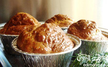 Рецепт Закусочные маффины с креветками и укропом