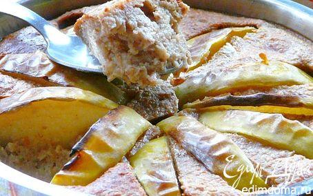 Рецепт Овсяный пудинг на завтрак
