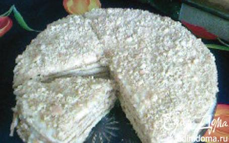Рецепт Медовик с кремом из манки