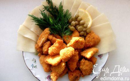 Рецепт Паста с хрустящей курочкой