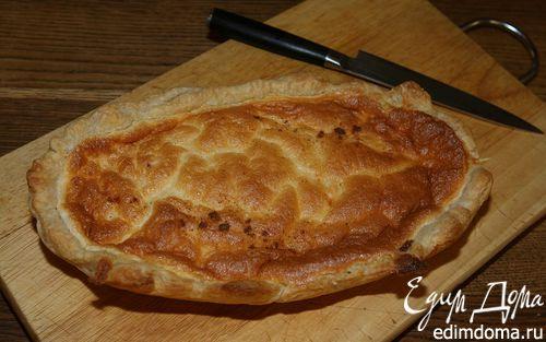 Рецепт Сырный пирог с мускатным орехом