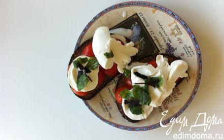 Рецепт Здоровый бутерброд к завтраку