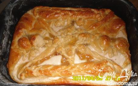Рецепт Пирог с творогом и лимонным джемом